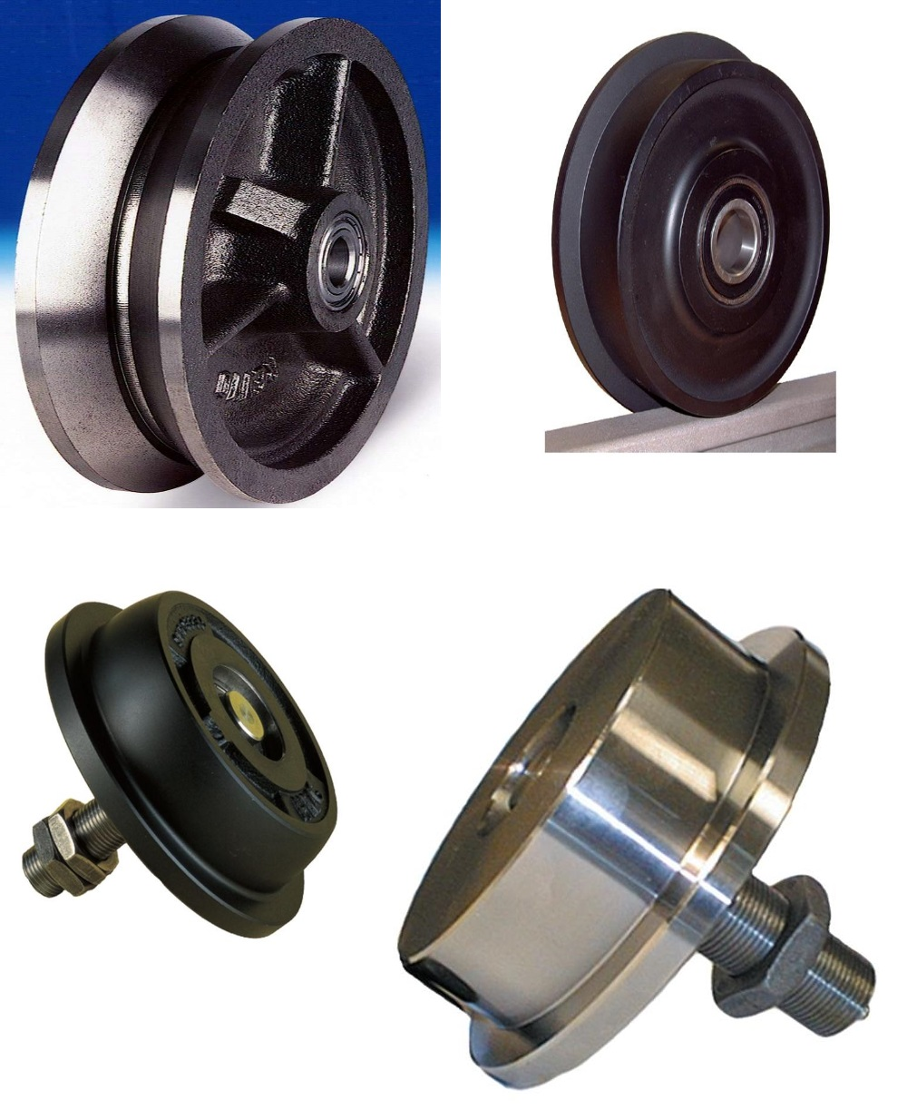 Flanged, Groove, Rail & Channel Wheels
